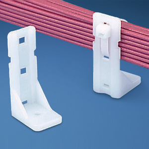 "Panduit PP1S-S10-C Cable Tie Mount, Standoff, 2.0"" (50.8mm)"