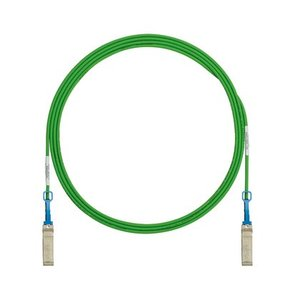 Panduit PSF1PXA1.75MGRN 10Gig SFP+ Direct Attach Passive Copper Cable Assembly, 5.7' Long, Green