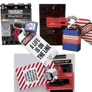 Panduit PSL-CB-3PC Lock-Out, No-Tool, Breaker, 1P/2P, Universal, Red, 3 Pack