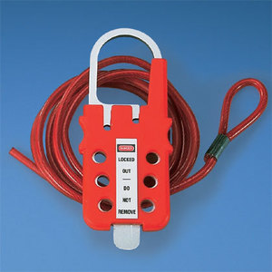 Panduit PSL-MLD Multiple Lockout Device, Hasp and Cable