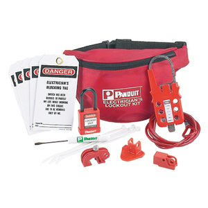Panduit PSL-PK-EA Electrician Lockout Kit