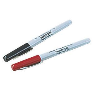 Panduit PX-0-1 Marking Pen, Regular Tip, Black, Individ