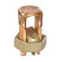 Panduit SBC2/0-Q Split Bolt Connector, Copper, 2 - 2/0 AWG