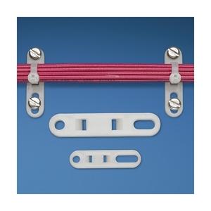 Panduit TP2-C Cable Tie Plate, #10 Screw (M5), M-S Tie