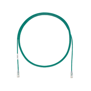 Panduit UTP28SP20GR Category 6 Performance UTP Patch Cord, 28 AWG, 20', Green