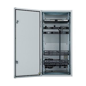 Panduit ZDF48-RA Enclosure, Pre-Configured, for 2 Access and 2 Distribution Switches