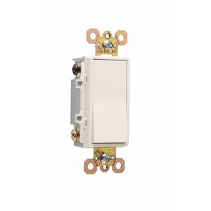Pass & Seymour 2622-W Decora, 2-Pole, 20 Amp, 120/277 Volt, White