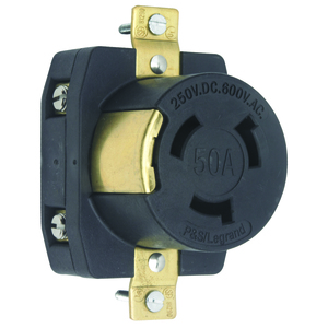 Pass & Seymour 3769 R SGL 50A250VDC50A600VAC