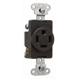 Pass & Seymour 3820 20 Amp, 125/250 Volt, 3P, 4W, NEMA 14-20R