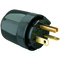 Pass & Seymour 5864-BK PS 5864-BK STR BLD PLUG 3W 20A 250V