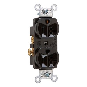 Pass & Seymour CRB5362-BK 20A 125V CONSTRUCT