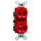 Pass & Seymour CRB5362-RED 20A 125V CNSTRCTN