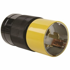 Pass & Seymour CS6365 Locking Plug, 50A, 125/250V, California Style, 3P4W