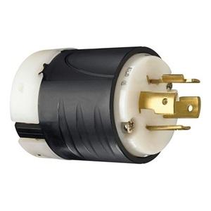 Pass & Seymour L1420-P Locking Plug, 20A, 125/250V, L14-20P, 3P4W