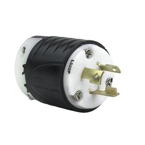 Pass & Seymour L520-P Locking Plug, 20A, 125V, L5-20P, 2P3W