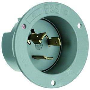 Pass & Seymour L620-FI FLANGED INLET 3W 20A
