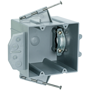 "Pass & Seymour P2-42-RRD 3.75 x 4"" Range/Dryer Box, Non-Metallic. Depth: 3"". Cubic Inches: 42""."