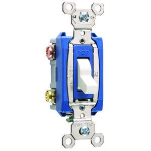 Pass & Seymour PS15AC3-W Industrial Extra Heavy Duty Spec Grade Switch, 15A