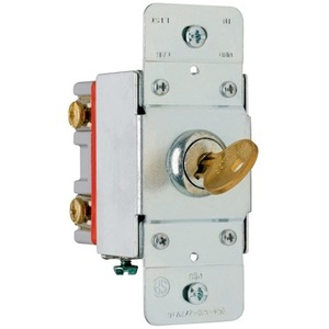 Pass & Seymour PS20AC2-KL Security Switch, 2-Pole, 20A, 120/277V
