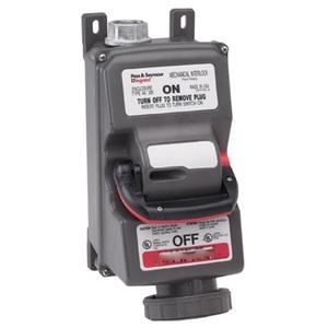 Pass & Seymour PS430MIR7-W Non-Fusible Mechanical Interlock, 4P3W, 30A, 3PH, 450VAC