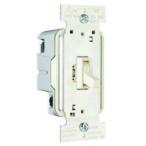 Pass & Seymour T603-LA TOGGLE DIMMER 600W 3W LA