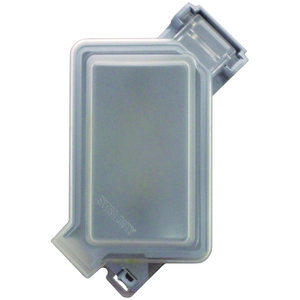 Pass & Seymour WIUC10-FRED Weatherproof Cover, While-In-Use, 1-Gang, Polycarbonate