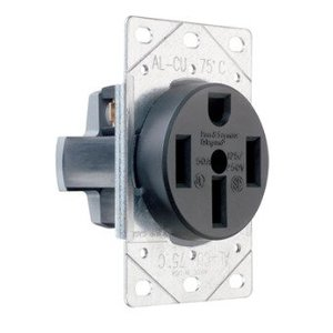 Pass & Seymour 3894 Receptacle, Flush Mount, 50 Amp, 125/250Volt