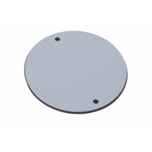 "Pass & Seymour WPRB11 Weatherproof Outdoor Cover, Round, 4"", (1) 1/2"" Hubs, Gray"
