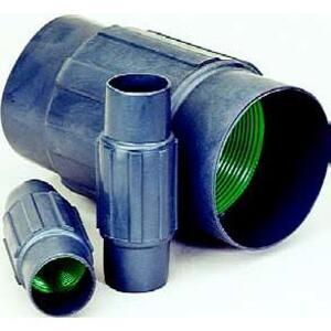 "Perma-Cote PMCPL-075 Rigid Coupling, Size: 3/4"", Steel/PVC Coated"