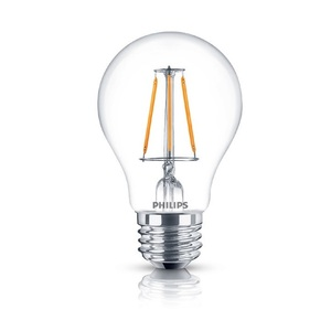 Philips Lighting 2A15/LEDFILAMENT/822/CL/ND-120V Filament LED Lamp, 2W, A15, Medium Base (E26), 120V, 2000K