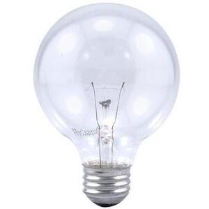 Philips Lighting 40G25/CL/LL-120V-12/1-TP Incandescent Decorative Lamp, G25, 40W, 120V