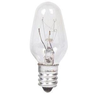 Philips Lighting 7C7-120/130V-24PK Indicator Lamp, C7, 7W, 120-130V