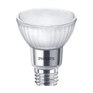 Philips Lighting 7PAR20/LED/F40/840/E26/GL/DIM-120V LED Single Optic Lamp, 7W, 120V, 4000K