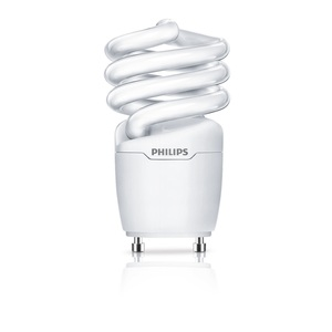 Philips Lighting EL/MDTQS-13W-GU24 Compact Fluorescent Lamp, 13W, EL/Mdt, 2700K