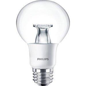 Philips 7G25/LED/827-22/E26/DIM-120V LED Lamp, Globe, G25, 7W, 120V