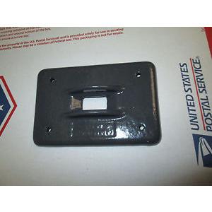 Plasti-Bond PBDS32G FS/FD 1 Gang Cover