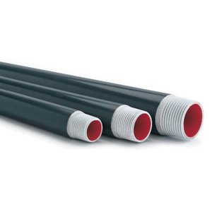 "Plasti-Bond PRCONDUIT-AL-5 PVC Coated Aluminum Conduit, 5"", 10' Length"