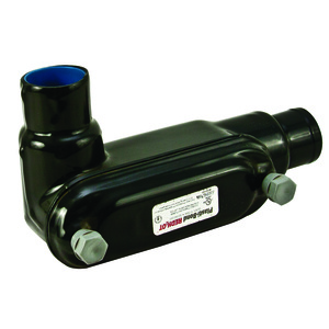 "Plasti-Bond PRHLL28 Conduit Body, Type: LL, FM8, 3/4"", PVC Coated Iron"