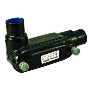 "Plasti-Bond PRHLL38 Conduit Body, Type: LL, FM8, 1"", PVC Coated Iron"