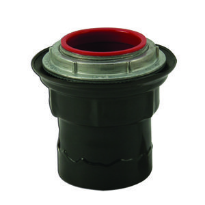"Plasti-Bond PRST6 Conduit Hub, Size: 2"", Material: PVC Coated Steel"