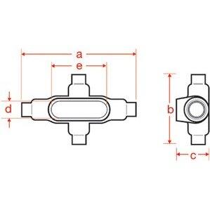 Plasti-Bond PRX57SA 1-1/2 Al Form 7 X Fitting
