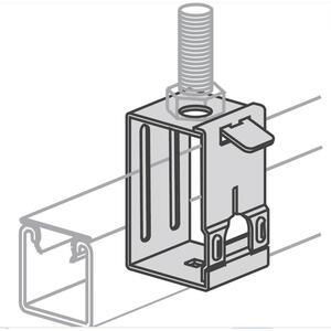 Power-Strut PS2632-9/16-EG Swing Gate Fixture Hanger