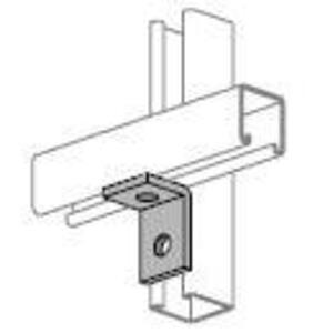 Power-Strut PS604-EG Two Hole Corner Angle, Steel/Electro-Galvanized