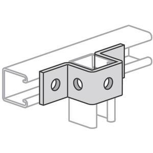 Power-Strut PS613-EG U Support Connector, Steel/Galvanized