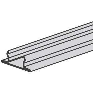 "Power-Strut PS707-10PG Snap Closure Strip for 1-5/8"" Wide Channels, Steel, 10'"