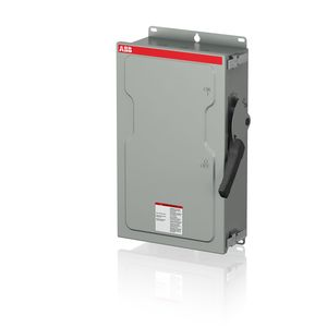 ABB EOH362RK Safety Switch, 60A, 3P, 600VAC, HD Fusible, NEMA 3R *** Discontinued ***