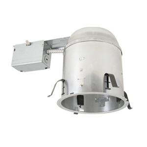 "Elite Lighting B6RIC-AT-W 6"" Universal IC Remodel Housing, Air-Shut"