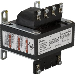 Square D 9070EO17D1 Transformer, Control, 25VA, 240 x 480 - 120VAC, Open, 1PH
