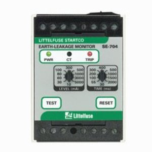 Littelfuse SE-704-0U 120/240VAC/VDC, Earth-Leakage Relay