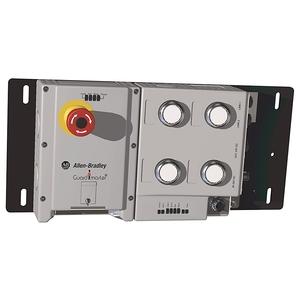 Allen-Bradley 442G-MABRB-UL-E0JP4679 Lock Module, 442G Access Box, Power to Lock, Unique Code, M12 Cable Entry, Estop
